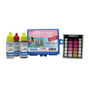 Safety™ Test Kit for Chlorine/Bromine, pH (DPD) (.75 oz) (0001, 0002, 0014)